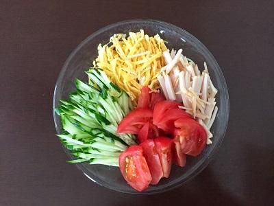 簡単に作れる安心・安全な冷やし中華のタレ