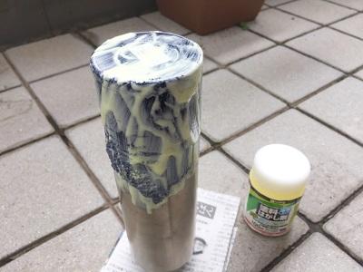 きれいに水筒の塗装を剥がす方法