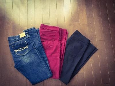 スキニ―パンツが原因の貧血・頭痛・冷え性