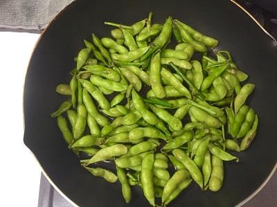 おいしい焼き枝豆の作り方