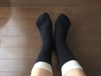 5本指&かかとなしタイプの冷え取り靴下