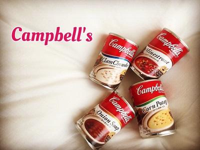 簡単でおいしい、キャンベルのごちそうスープ