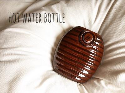 温活するなら陶器製の湯たんぽ