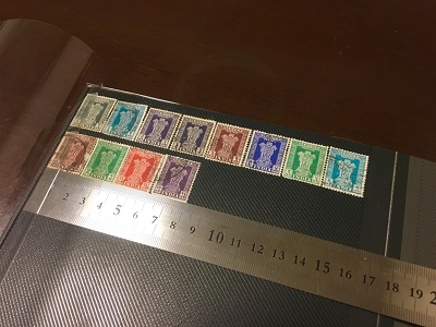 無印で切手アルバム