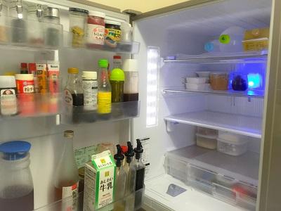 プチミニマリストな冷蔵庫の中身