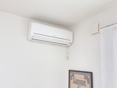 ファンファンを使ってエアコンの送風口のカビを取る方法