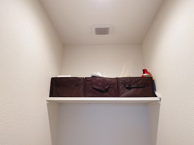 ニトリのライラ3を使ったスッキリトイレ収納
