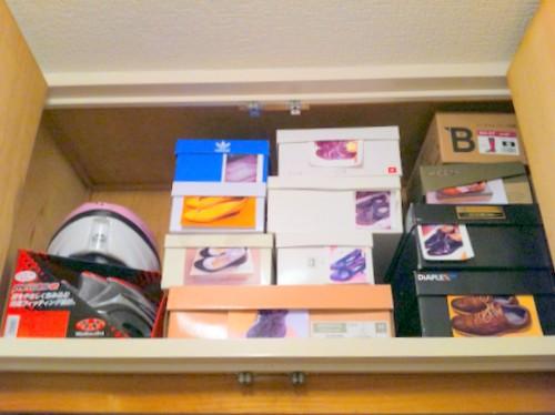 ミニマリスト 靴 収納 公開 簡単 写真 靴箱