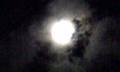 2014年11月6日の月(珍しい満月の日)