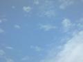 2016年5月7日の雲・飛行機雲