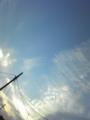 2016年6月1日の空