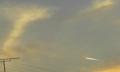 2016年11月18日の飛行機雲