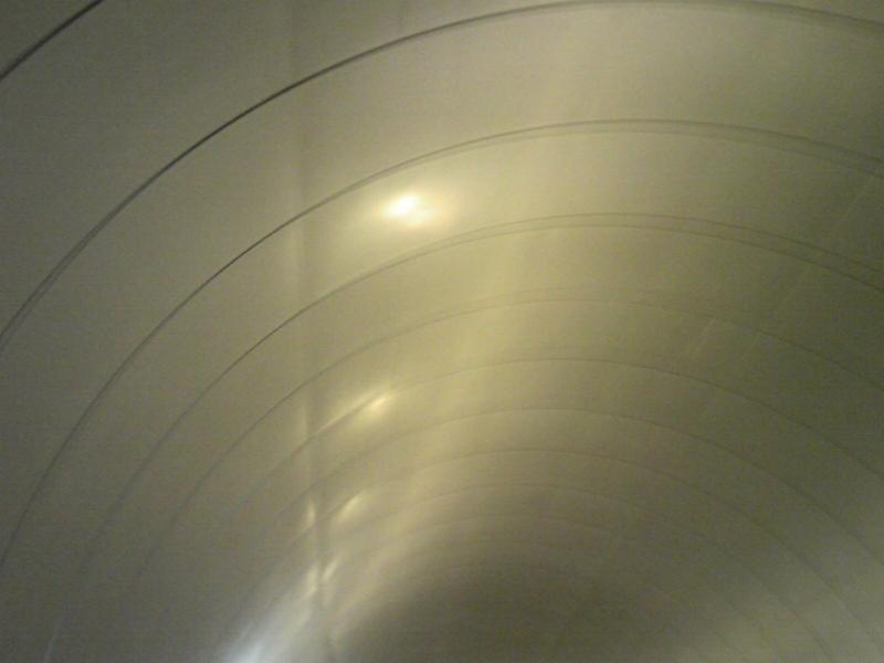 トンネル 涼しかった