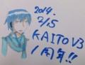 KAITOV3一周年記念?←