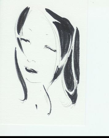 手描きラフスキャン。