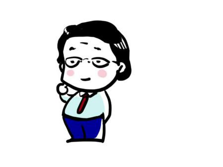 似顔絵イラスト