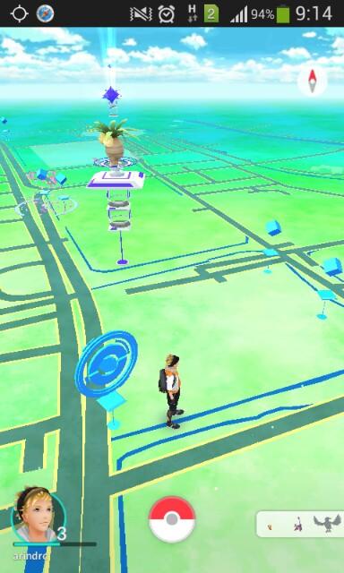 pokemon go dengan fake GPS