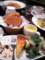 マザーリーフ、青山オーバルビル店。会のあとの食事。