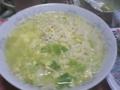 札幌一番塩ラーメン。キャベツ卵入り。