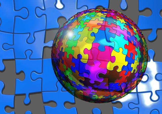 パズルの球