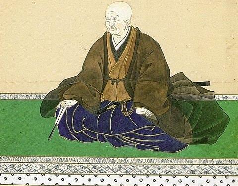 蜂須賀家政の肖像画