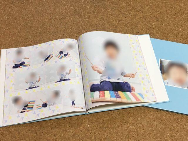 フォトブックを作るならマイブックがおすすめ。記念写真がきれいに印刷できる