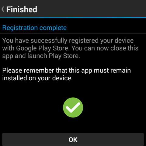 Blackberry Google ID success