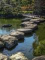 [HDR]清澄庭園・飛び石