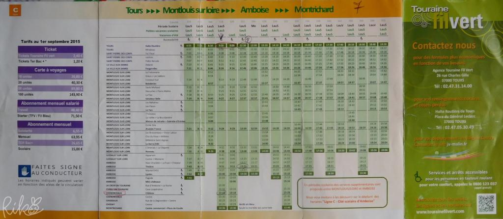 Fil Vertバス時刻表