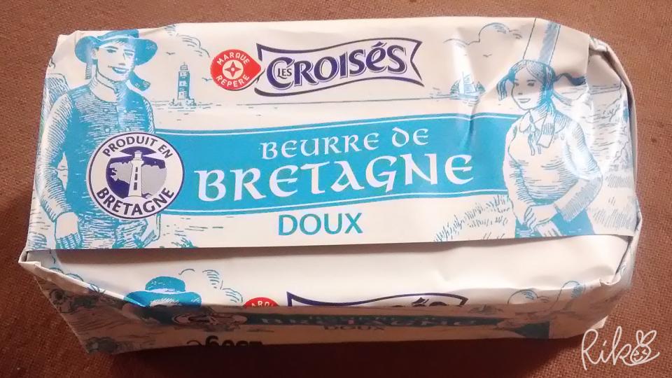 フランスのバター