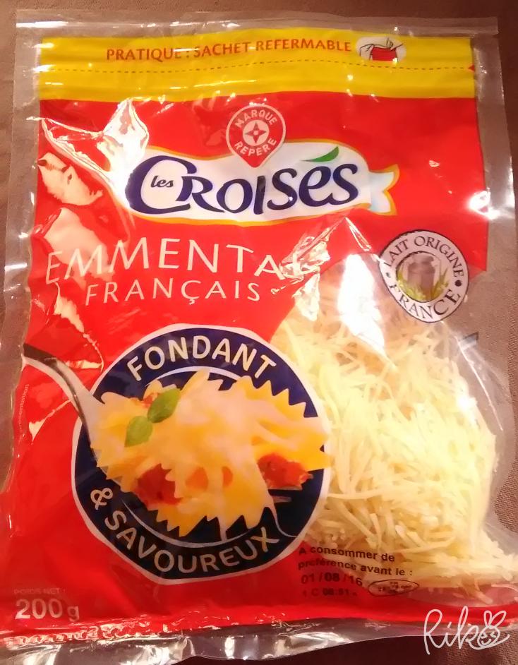 フランスのスーパーで買ったとろけるチーズ
