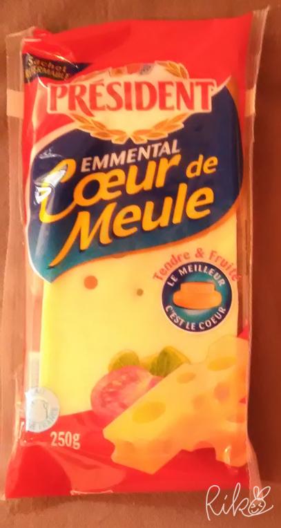 プレジデントのエメンタールチーズ