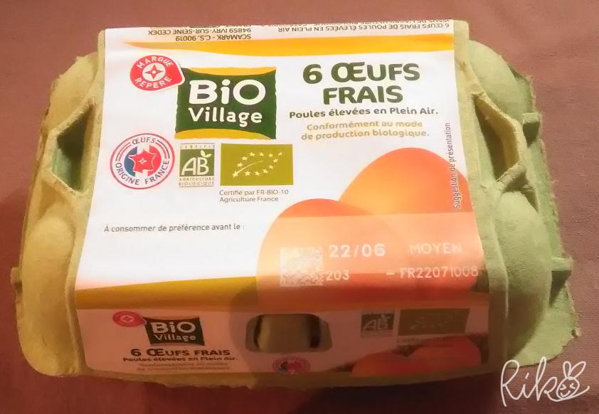 bio製品の卵6個入り