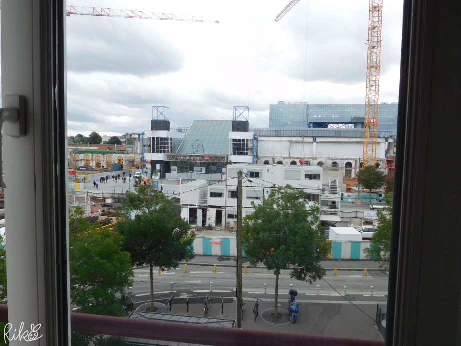 レンヌ駅近いホテル