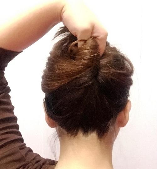 髪の毛にも優しい!オシャレに見える簡単かんざしアレンジ_イメージ2