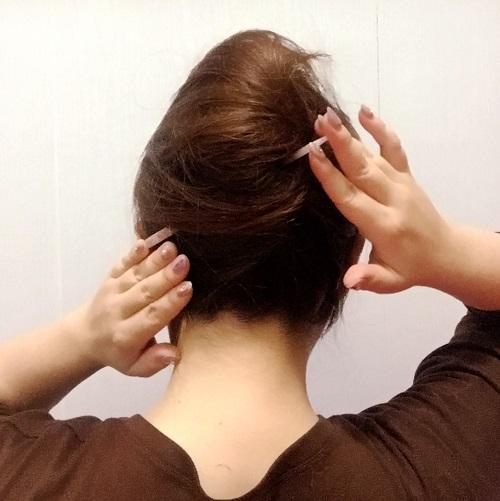 髪の毛にも優しい!オシャレに見える簡単かんざしアレンジ_イメージ3