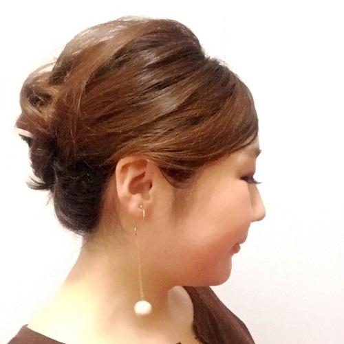 髪の毛にも優しい!オシャレに見える簡単かんざしアレンジ_イメージ5