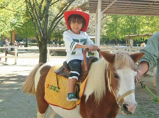 ポニー乗馬体験