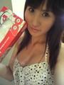 結月里奈‐白×黒‐水玉のワンピース☆