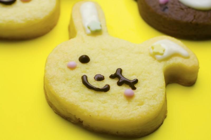ウサギ型のクッキー