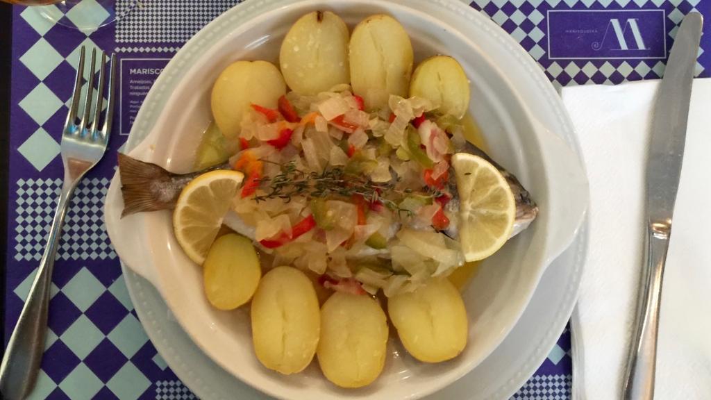 ポルトガルの魚料理