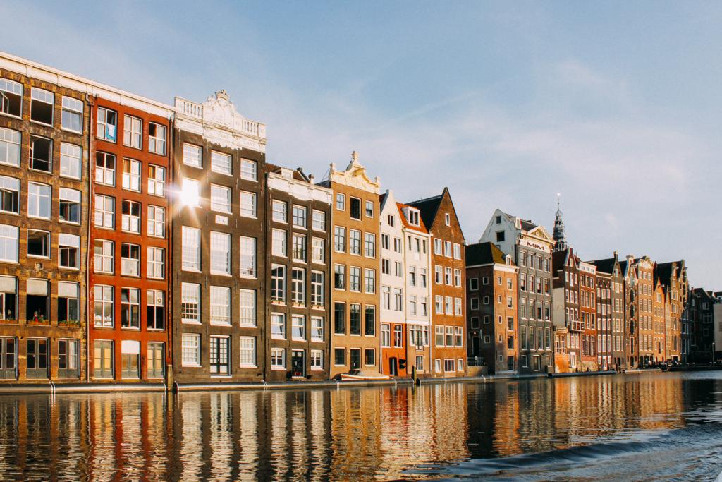 アムステルダムの風景写真