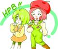 梨子ちゃん(トラしゃん)&りんご(うちの子)
