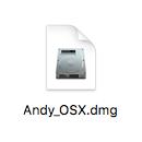 アンディOSXインストールファイル