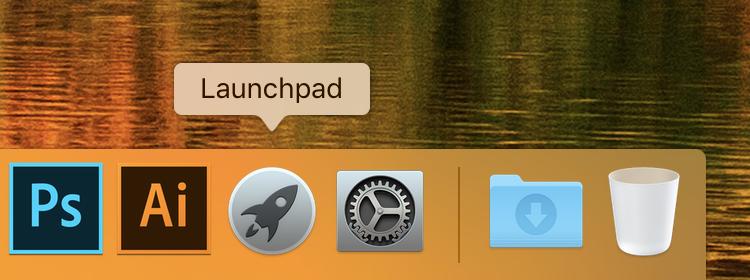 Launchpadアプリの画像