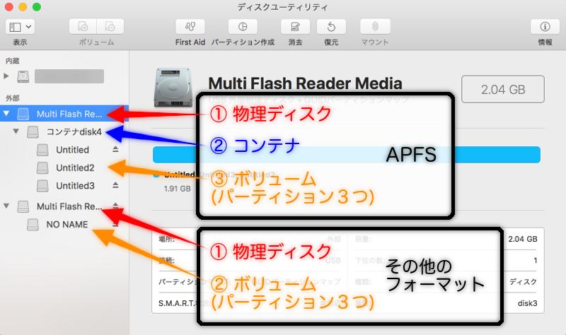 サイドバーに表示されてるデバイス説明の画像