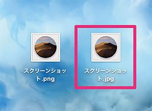 JPEGに変換された画像