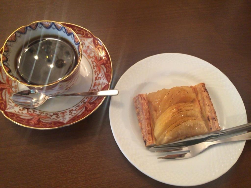 ふらいうんぐうぃっち 喫茶コンクルシオ 大正浪漫喫茶 アップルパイ