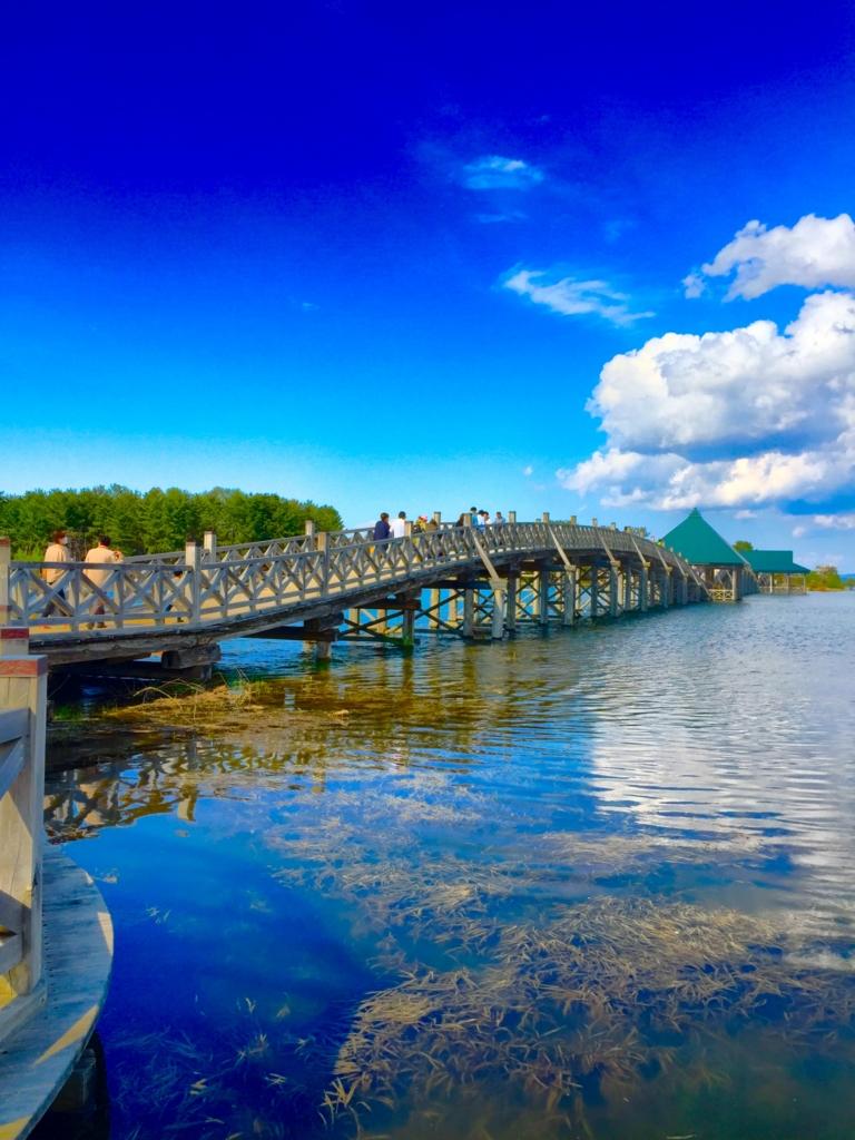 【青森県探訪】日本一長い木造三連太鼓橋 鶴の舞橋へ写真を撮りに行ってきた話[観光]