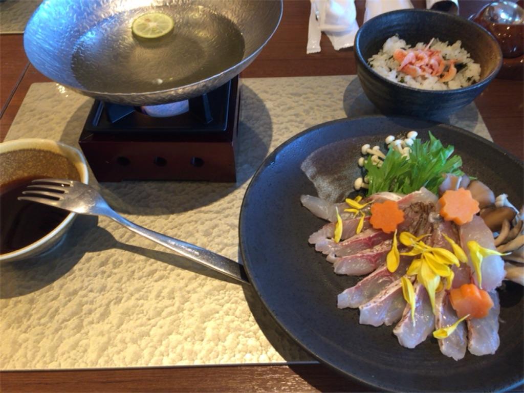 レストラン ソラノテラス(2F)のコラボメニューを食す
